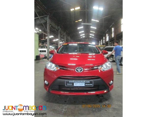new toyota vios for rent