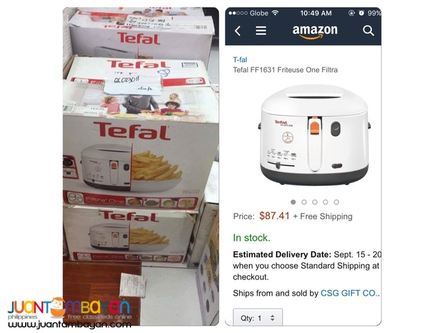 BRAND NEW TEFAL PRODUCTS (FOR SALE)