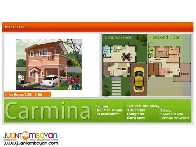 Camella SJDM, Bulacan / Carmina – DH