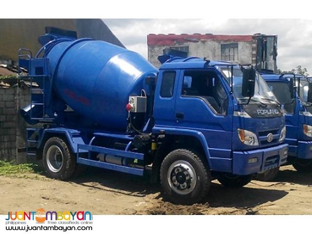 6 Wheeler Transit Mixer Truck 4m³, 6Tons
