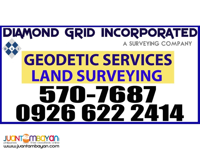 Geodetic Services Land Surveying