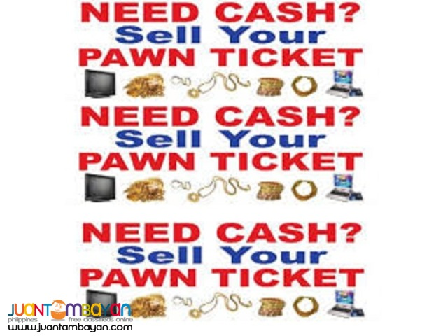 Buying Pawn Ticket Pawned Gadgets Vehicles Houses Sangla Remata Tubos
