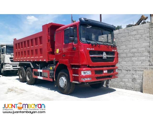 10 Wheeler SHJ10 Dump Truck, 371HP, 20m³