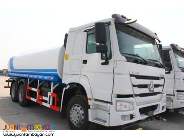 Great Unit And Specs Howo Water Truck (20 KL)