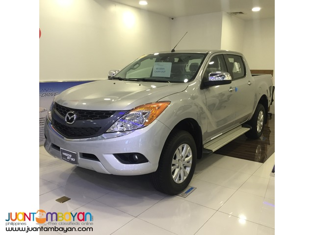 Mazda BT50 AT DSL 2.2 20K Low Down Low Monthly All In Promo