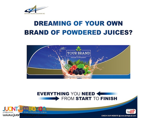 Direct Selling or Networking Business for Powdered Juices