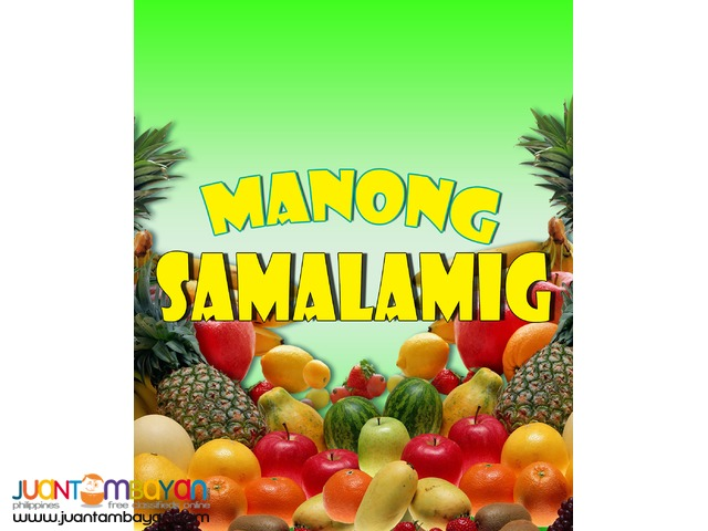 Manong samalamig gulaman foodcart business mall type cart