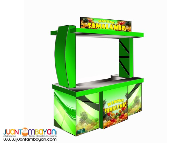 Manong samalamig gulaman foodcart business mall type cart