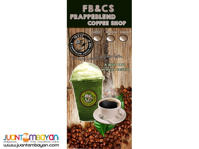 negosyong foodcart frappe coffee mall type cart
