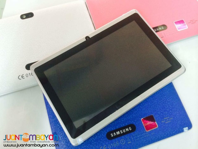 SAMSUNG CANDY TAB/WIFI - SAMSUNG TABLET - LOT OF FREEBIES