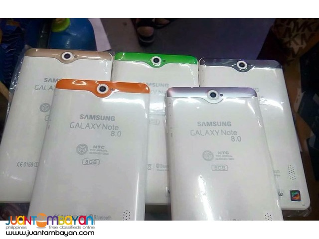 SAMSUNG NOTE 8.0 PHABLET - SAMSUNG TABLET - LOT OF FREEBIES