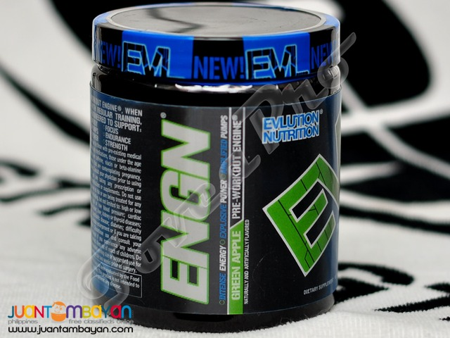 Evlution ENGN, 30 servings Green Apple (Free Shipping) Pre-Workout