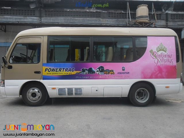 Brand New Asiastar Bus 19 seater! Efficient and Consistent!