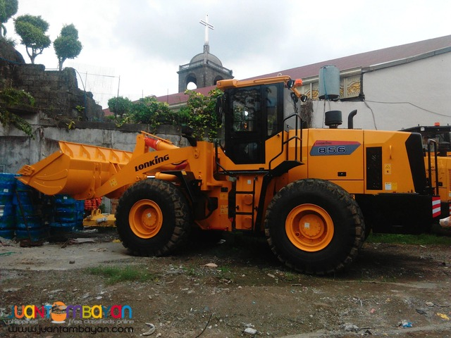 Good as new! Payloader CDM856 BRANDED NEW