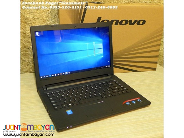 Brandnew! Lenovo Ideapad 100 Series BroadWell 14.1inch Win10 Laptop