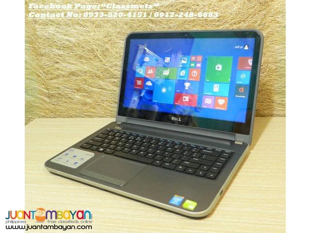 Dell Inspiron 14r 5437 Series Corei5 x4 Touchscreen Nvidia GT Laptop