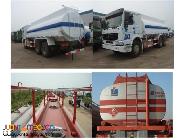 10 Wheeler HOWO Oil Truck, 371HP