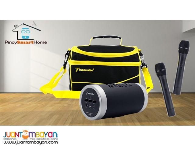 Tina Portable Bluetooth PA Karaoke Speaker