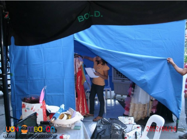 community service portable aircon tent