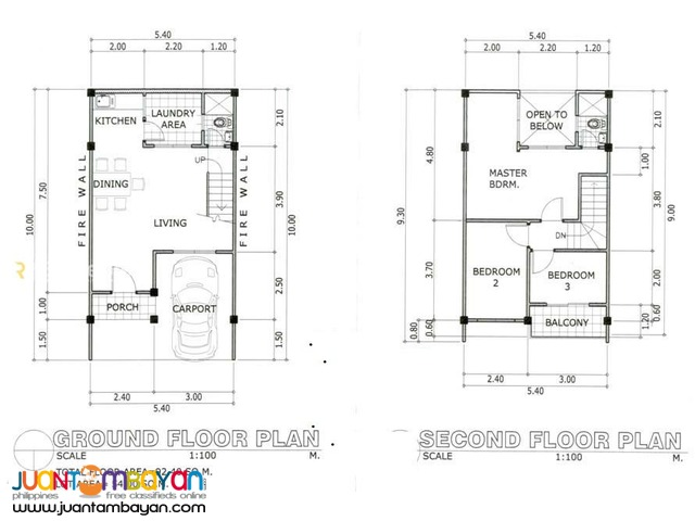 Townhouse 2-storey as low as P7,500k monthly amort in Consolacion Cebu