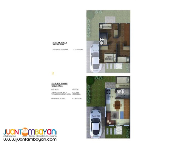 House Duplex as low as P12,264k monthly amort in Mandaue Cebu