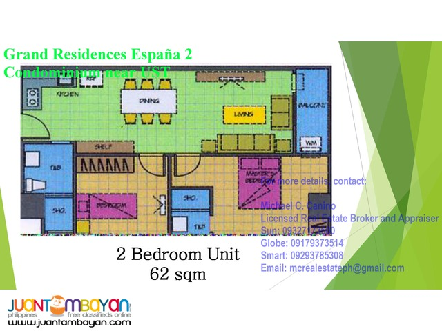 Condo For Sale near UST Grand Residences Espana 2