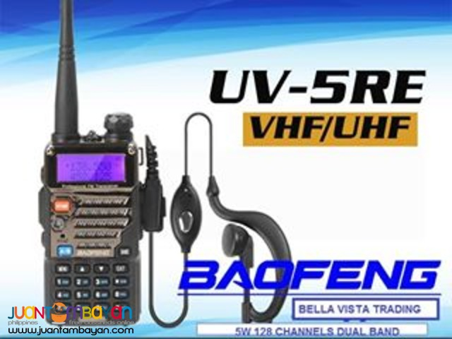 BAOFENG UV-5RE TWO WAY RADIO