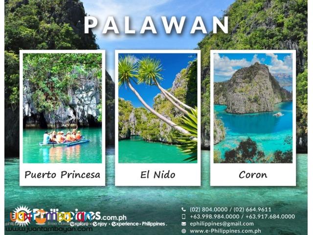 3D2N El nido 2D1N Puerto Princesa via private van