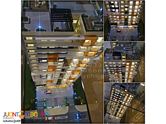 Midrise Condo in Kamias,QC near EDSA,UP,Ateneo for as low as 9k/mo
