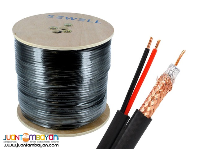 CCTV camera Cable- Siamese cable 305meters(RG06)
