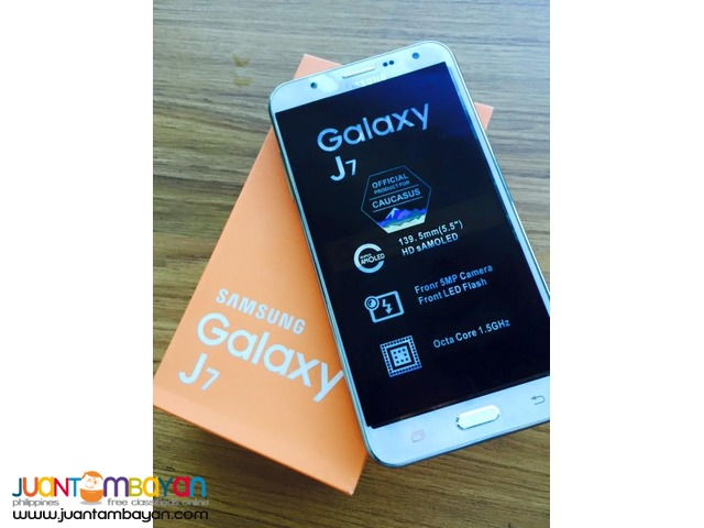 SAMSUNG J7 QUADCORE DUALFLASH - MOBILE PHONE / CELLPHONE