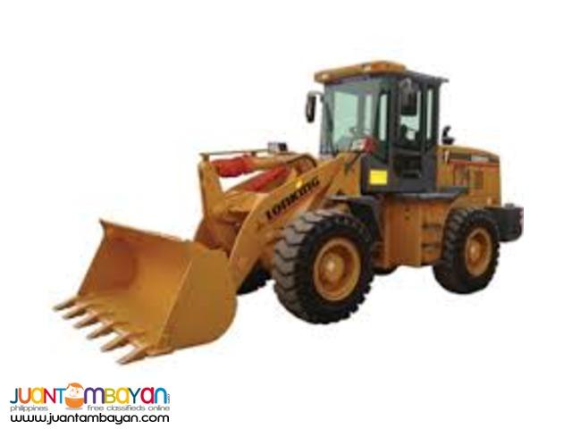 Lonking - CDM833 Wheel loader payloader STD30/45b/50b counterpart