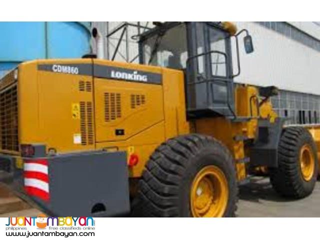 Lonking CDM 860 Wheel Loader Payloader