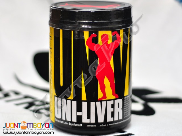 Universal Nutrition Uni-Liver, 500 tablets (Free Shipping)