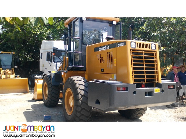 CDM833 Wheel Loader 1.7m3 Capacity   Rated PayLoad: 3Tons