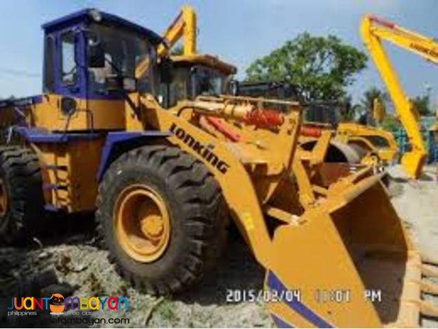 CDM843 Wheel Loader 2.3m3 Capacity  Rated PayLoad: 4Tons