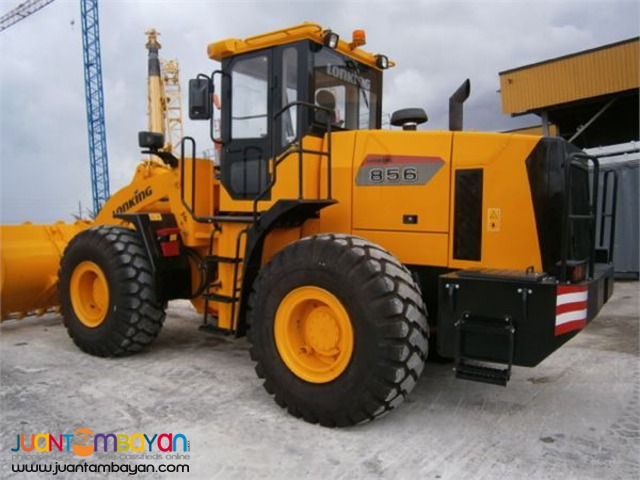 CDM856 Wheel Loader 3m3 Capacity Rated PayLoad: 5Tons
