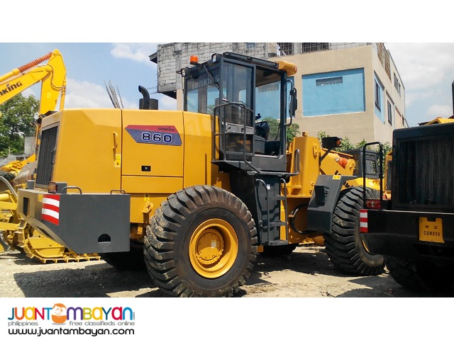 CDM860 Wheel Loader 3.5m3 Capacity  Rated PayLoad: 6Tons