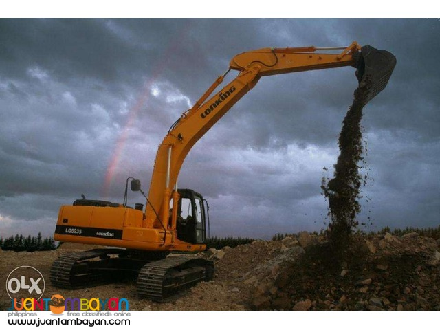 Efficient CDM6235 Backhoe Dozer