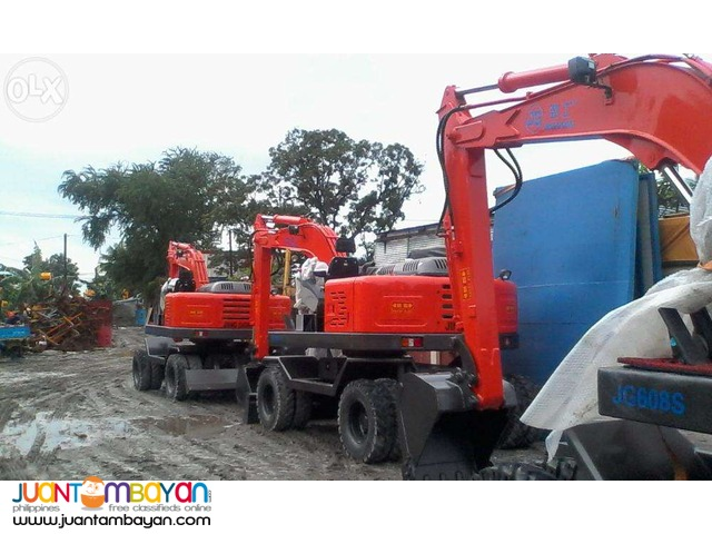 Jinggong JG608 Backhoe Excavator(25 To 30 Bucket Size)