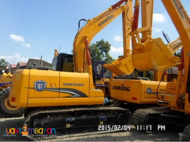 September Sale + CDM6150 Backhoe excavator + Sinotruk