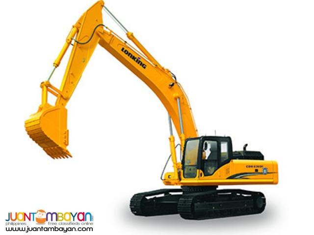 September Sale + CDM6235 Hydraulic Excavator + Sinotruk