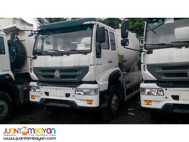 September Sale \ C5B / Huang He Mixer Truck 6wheeler \ Sinotruk