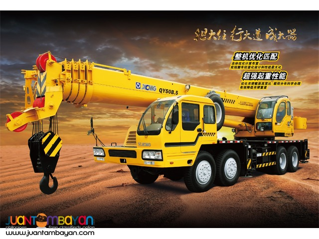 September Sale - QY50B.5 Truck Mounted Crane - XCMG