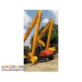 New Lonking CDM6235 Hydraulic Excavator 0.4m3 Capacity Long Arm