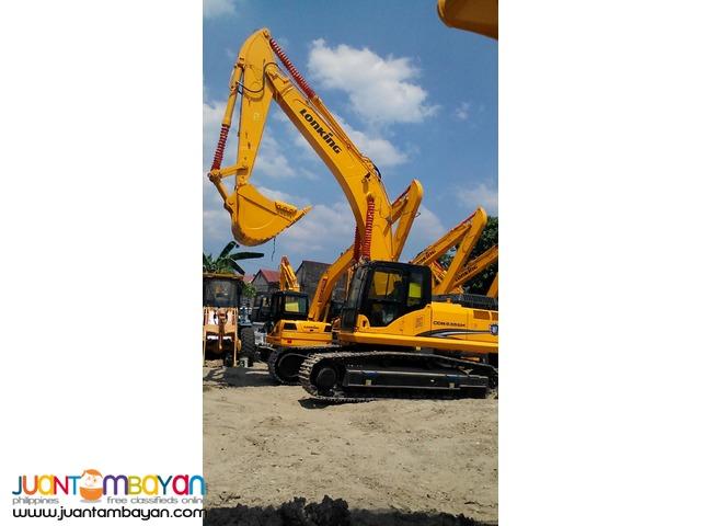 New Lonking CDM6365 Hydraulic Excavator 1.6m3 Capacity