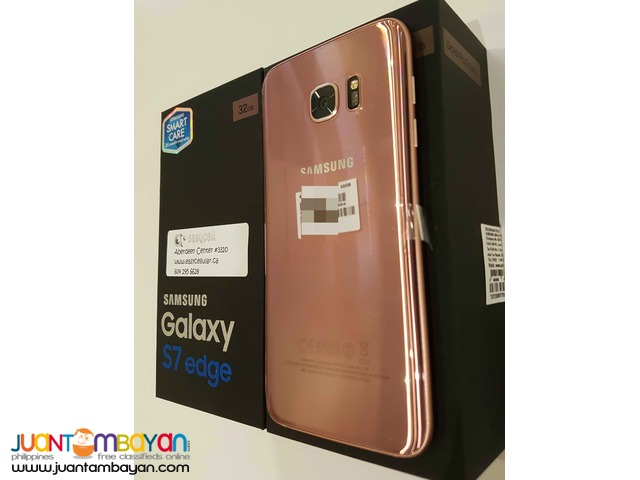 SAMSUNG GS7  EDGE  PINK 32  GBFOR BABY WITH RHEUMATIC  HEART  DISEASE