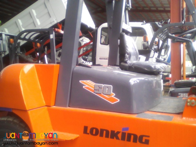 BRAND NEW LG50DT Diesel Forklift 5 Tons Lonking