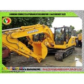 New Lonking CDM6225 Hydraulic Excavator 1.1m3 Capacity