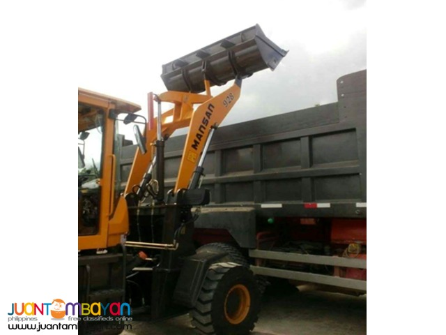 Mansan 928A (1 way) Wheel Loader